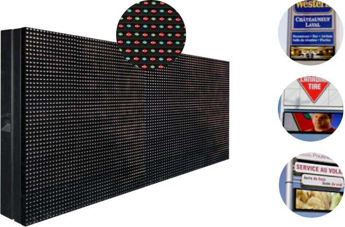 Posimage - Afficheur numérique LED